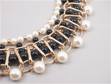 WHOLESALE PEARL NECKLACE SET 131N1907BK