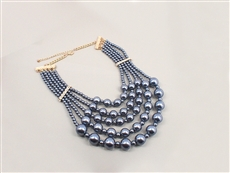 WHOLESALE PEARL NECKLACE SET 18A2N13728GGY