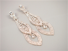 WHOLESALE FASHION RHINESTONE EARRINGS 2A8E3544GDCLR