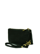 WHOLESALE DESIGNER INSPIRED WALLET 3101N-BLACK