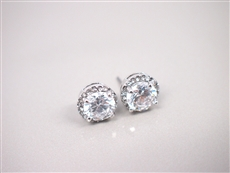 WHOLESALE CUBIC ZIRCONIA EARRINGS 3E7011538