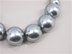 WHOLESALE PEARL NECKLACE 5N14721GRY