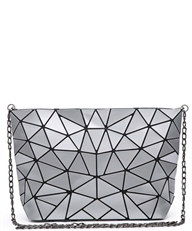WHOLESALE DESIGNER INSPIRED CROSSBODY 8105 SIL