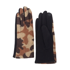 WHOLESALE FASHION GLOVES CG0356 BRN