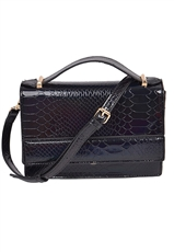 WHOLESALE DESIGNER INSPIRED CROSS-BODY HPC3014 BLK