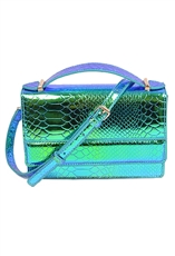WHOLESALE DESIGNER INSPIRED CROSS-BODY HPC3014 GRN