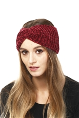 WHOLESALE FASHION HEADBAND LHB009 BURG