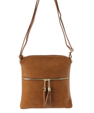 WHOLESALE DESIGNER INSPIRED CROSSBODY LP062 TAN