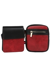 WHOLESALE DESIGNER INSPIRED FANNY PACK MC0039 RD