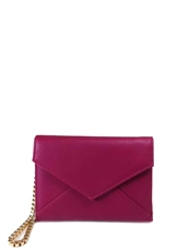 WHOLESALE DESIGNER INSPIRED WALLET WLS5402-MAGENTA